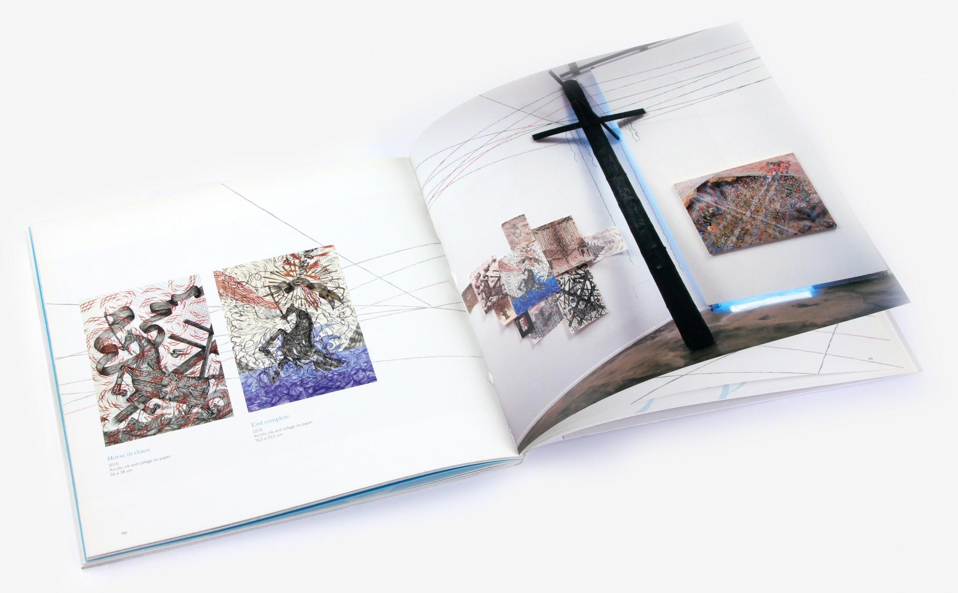 Andrew Shoultz - Crisis - Catalogo artista - intenro
