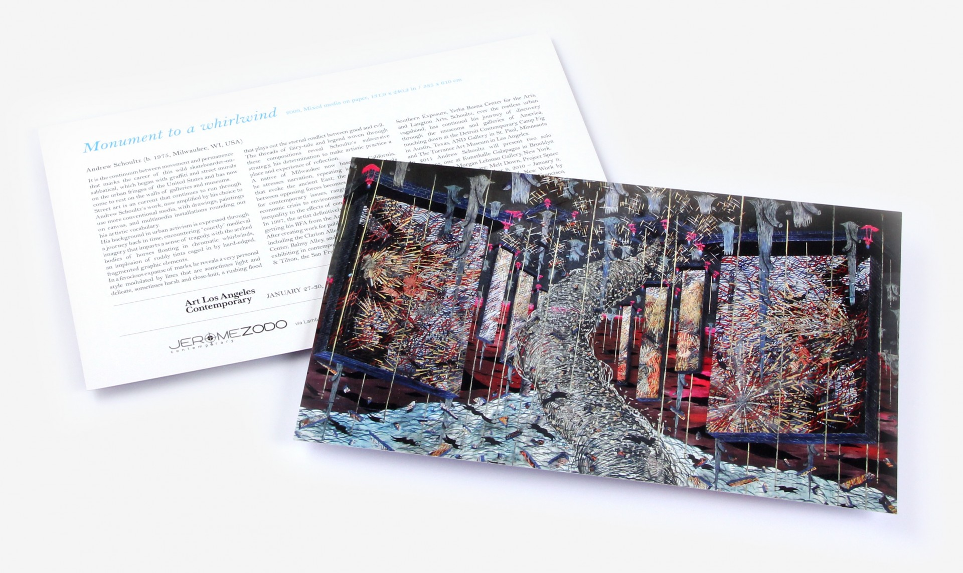 Andrew Shoultz - Crisis - Flyer