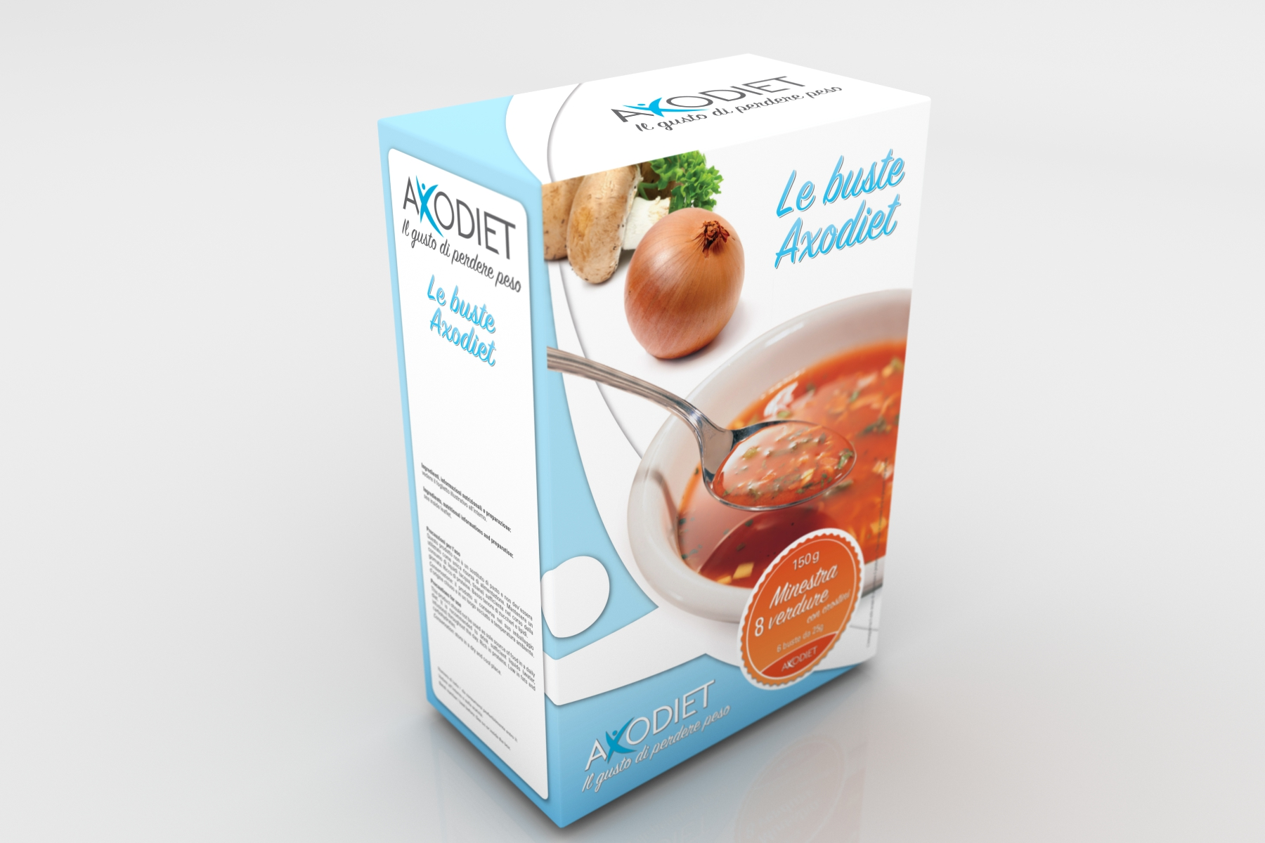 Packaging Axodiet - Scatola