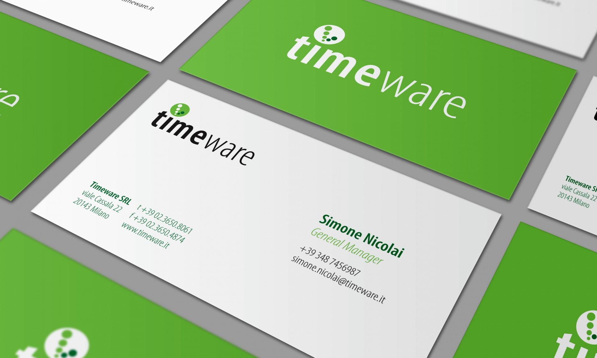 Immagine coordinata Timeware