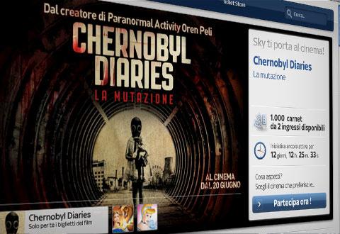 Chernobyl diaries grafica promozionale per sky ti porta - Sky ti porta al cinema ...